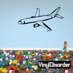 Small Airliner Decal