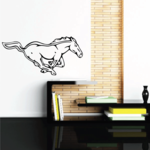 Charging Fast Horse Decal