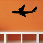 Jet Airliner Flying Decal