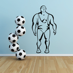 Weight Lifting Wall Decal - Vinyl Decal - Car Decal - NS008