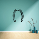 Horse Shoe Decal
