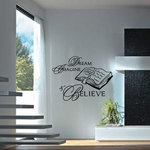 Dream Imagine and Believe Bible Decal