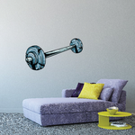 Weightlifting Wall Decal - Vinyl Car Sticker - Uscolor001