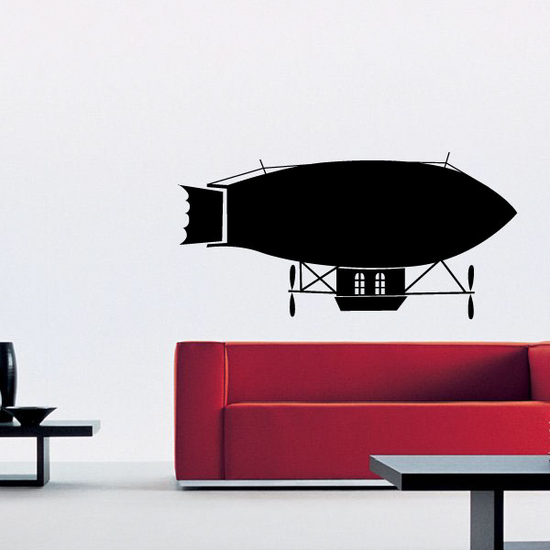 Early Dirigible Decal