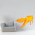 Galloping Flame Horse Sticker