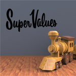 Super Values Wall Decal - Vinyl Decal - Car Decal - Business Sign - MC623