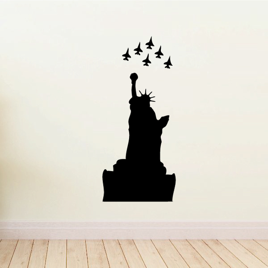 Statue of Liberty Flyover Decal