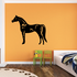 Proud Standing Stallion Decal