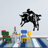 Rodeo Bucking Bronco Decal