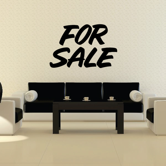For Sale Wall Decal - Vinyl Decal - Car Decal - Business Sign - MC640