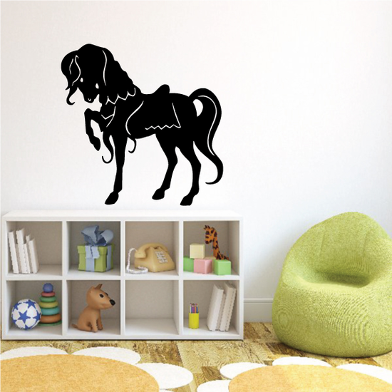 Fancy Standing Pony Pose Decal