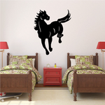 Leaping Forward Horse Decal