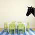 Peeking Horse with Reins Decal