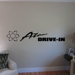 Atomic Drive In Decal