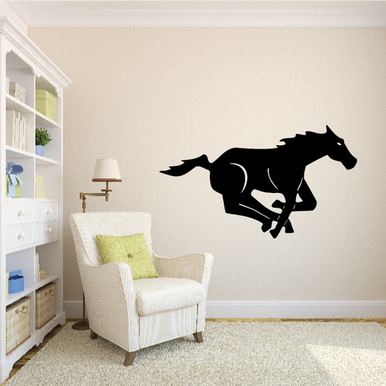 Fast Galloping Horse Decal