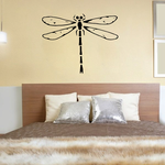 Long Tail Dragonfly Decal