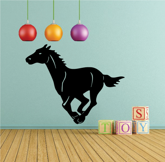 Horse Gallop Decal