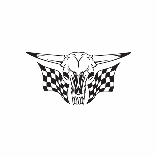 Racing Graphic Wall Decal - Vinyl Decal - Car Decal - DC 8025