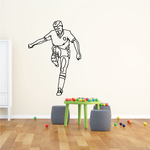 Soccer Wall Decal - Vinyl Decal - Car Decal - Bl123