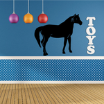 Mysterious Standing Horse Decal