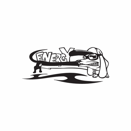 Racing Graphic Wall Decal - Vinyl Decal - Car Decal - DC 8034