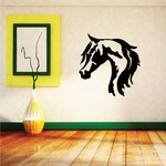Side by Side Horse Head Decal