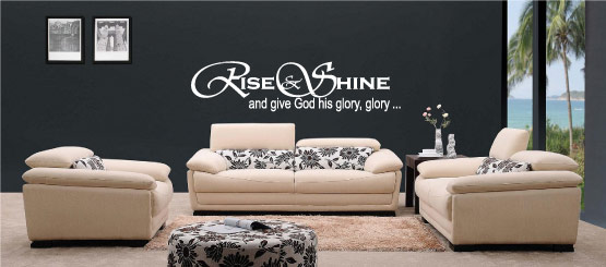 Religious Quote Decals