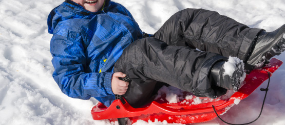 Sledding and Lugeing Decals