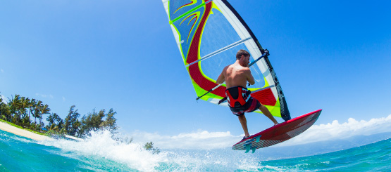 Wind Surfing Decals