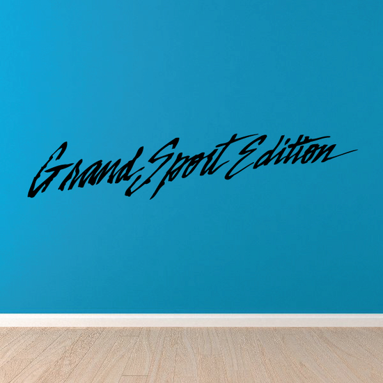 Grand Sport Edition Decal