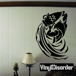 Zodiac Aquarius Wall Decal - Vinyl Decal - Car Decal - CC042