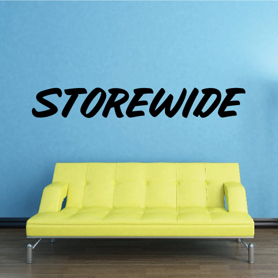Storewide Wall Decal - Vinyl Decal - Car Decal - Business Sign - MC678