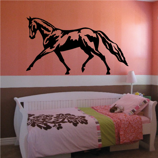 Giddy Walking Horse Decal