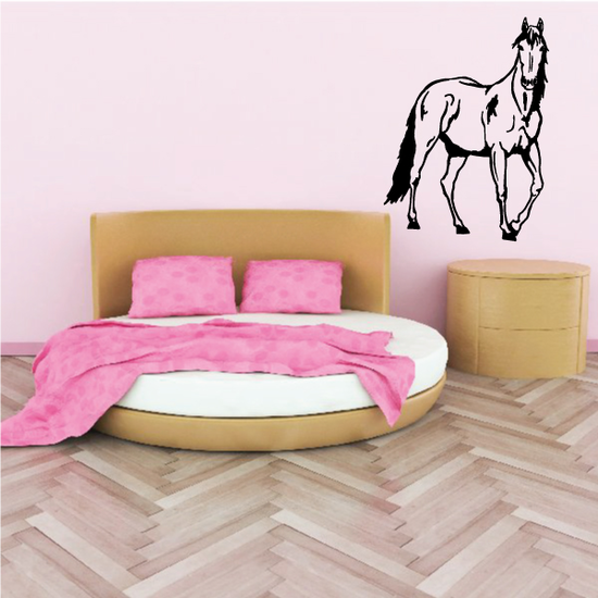 Giddy Staring Horse Decal