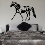 Expressive Style Walking Horse Decal