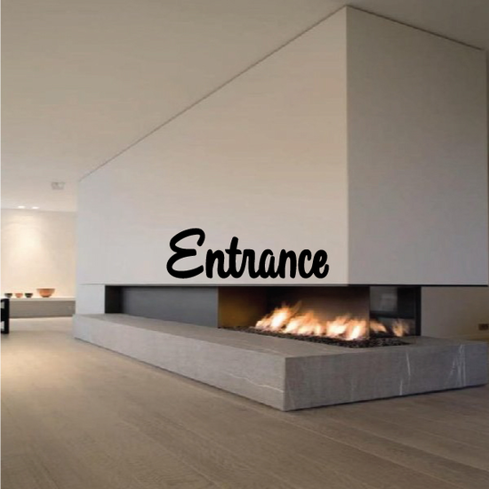 Entrance Wall Decal - Vinyl Decal - Car Decal - Business Sign - MC692