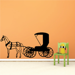 Horse Drawn Carriage Decal