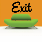 Exit Wall Decal - Vinyl Decal - Car Decal - Business Sign - MC693