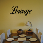 Lounge Wall Decal - Vinyl Decal - Car Decal - Business Sign - MC702