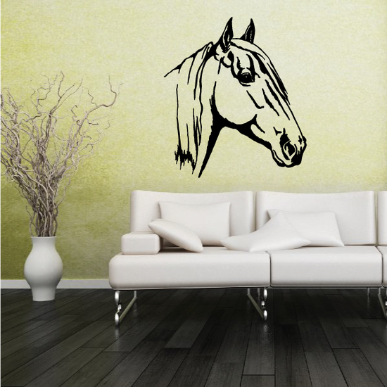 Magnificent Horse Head Decal