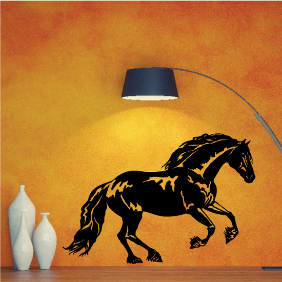 Galloping Great Stallion Decal