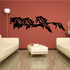 Four Horses Running Decal