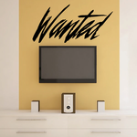 Wanted Decal