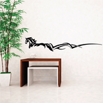 Tribal Wind Horse Decal