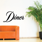 Diner Wall Decal - Vinyl Decal - Car Decal - Business Sign - MC717