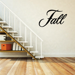 Fall Wall Decal - Vinyl Decal - Car Decal - Business Sign - MC720