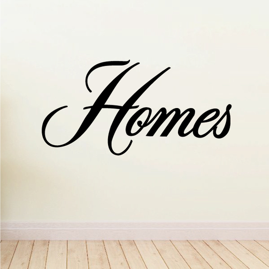 Homes Wall Decal - Vinyl Decal - Car Decal - Business Sign - MC722