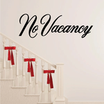No Vacancy Wall Decal - Vinyl Decal - Car Decal - Business Sign - MC725