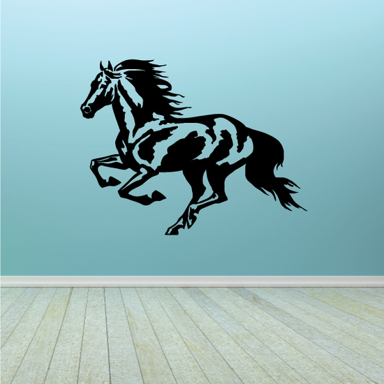 Running Mustang Decal