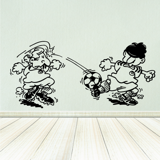 Soccer Wall Decal - Vinyl Decal - Car Decal - Bl165